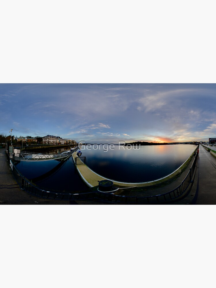 Dawn Calm at Foyle Marina, Derry, N.Ireland by VeryIreland