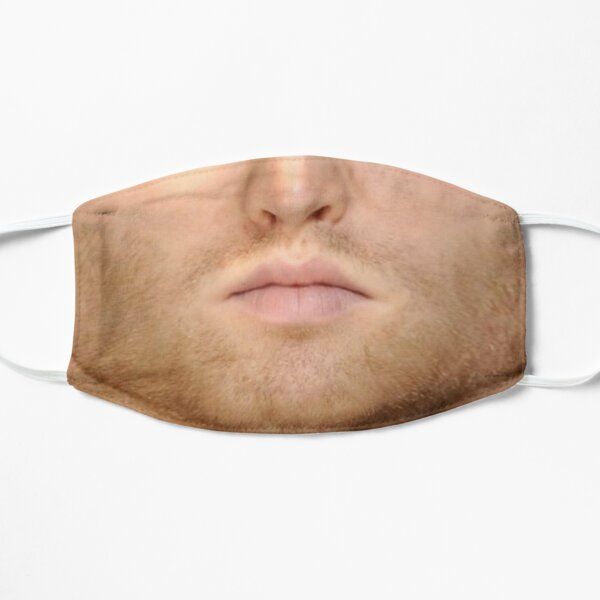 Letterkenny Wayne Mouth Flat Mask