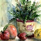 Fern, Peppers,Tomatoes by Tania Richard