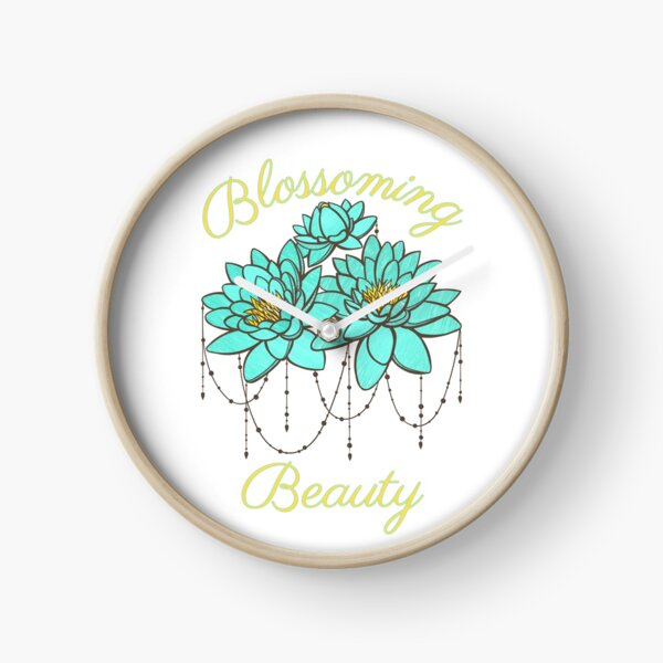 Blossoming Beauty Clock