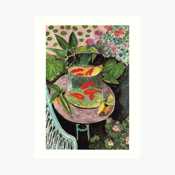 Henri Matisse   Goldfish Art Print