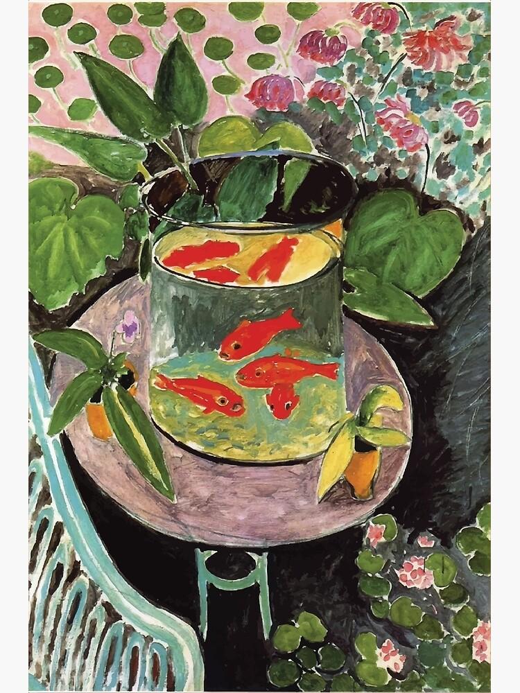 Henri Matisse   Goldfish by badguyduh