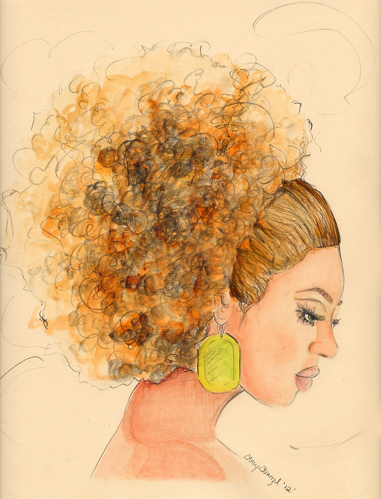 Miss. Fro by Stacy Stranzl