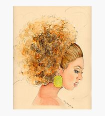 Miss. Fro Photographic Print