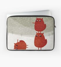 Stacked squirrel Laptop Sleeve