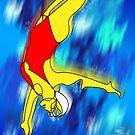 diver by Daniel H Chui