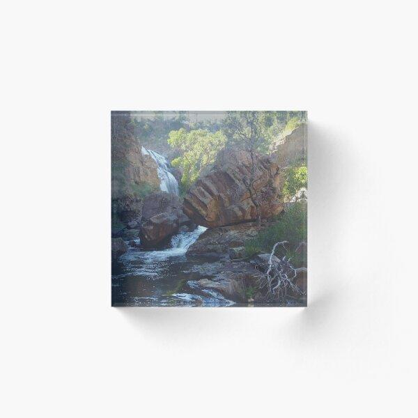 Mackenzie Falls, Victoria, Australia Acrylic Block