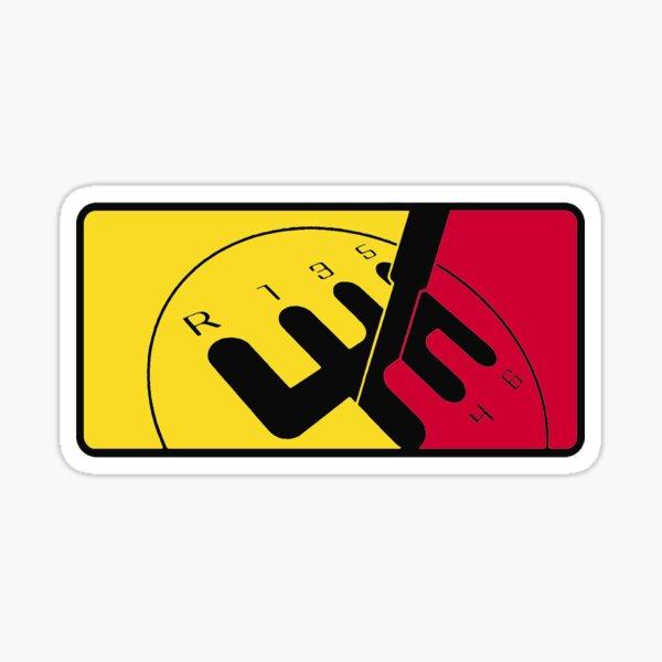 Liga alemana de automovilismo Pegatina