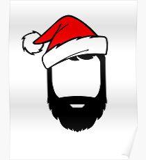Festive Beard Poster