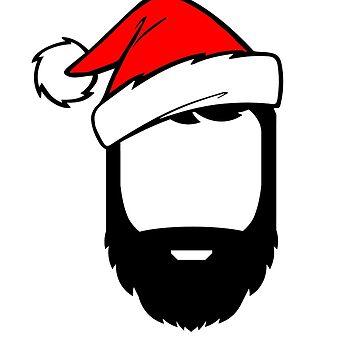 Festive Beard by edwinculling