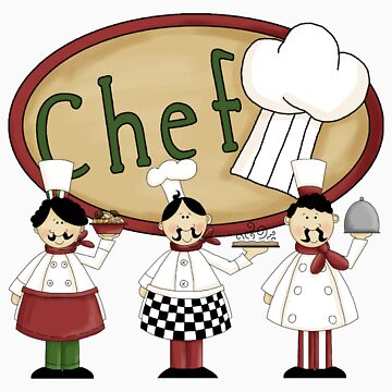 Italian Three Chefs by cowpie