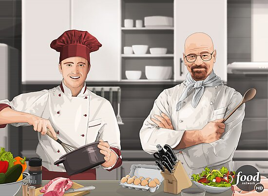 Cooking Bad by Jeffrey Lo