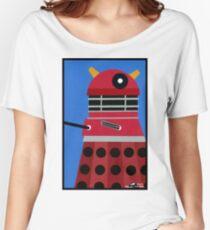 Dalek Sticker Women's Relaxed Fit T-Shirt