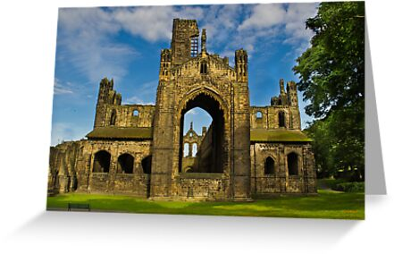 Kirkstall Abbey #4 by Colin Metcalf
