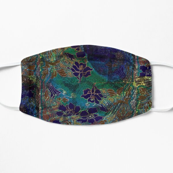 Peacock Floral, Part I Mask