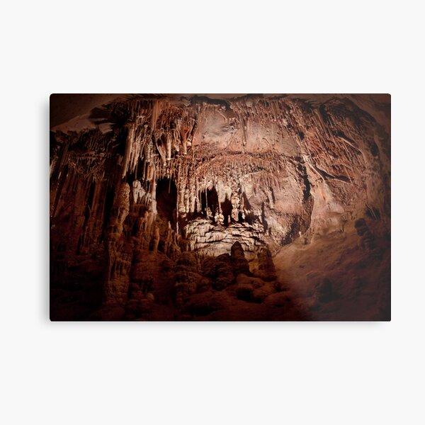 Lodge Room – Lehman Caves Metal Print