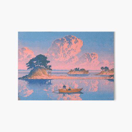 Tsukumojima, Shimabara - Kawase Hasui - Japanese Art Art Board Print