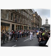 Glasgow, Ingram St. Poster