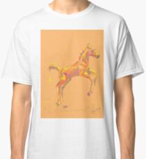 Pillow foal out and about Classic T-Shirt