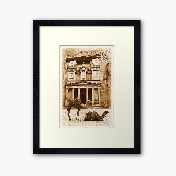 Petra Framed Art Print