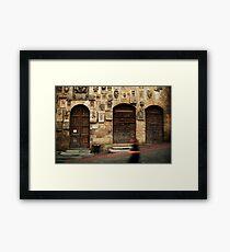 Arezzo Runner Framed Print