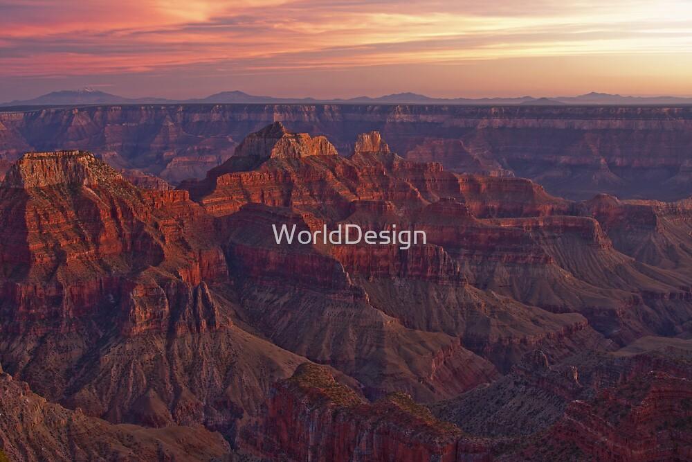 Bright Angel Sunset by WorldDesign