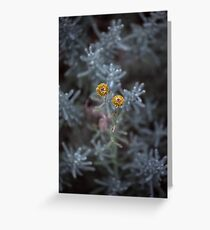 Walking hand in hand Greeting Card