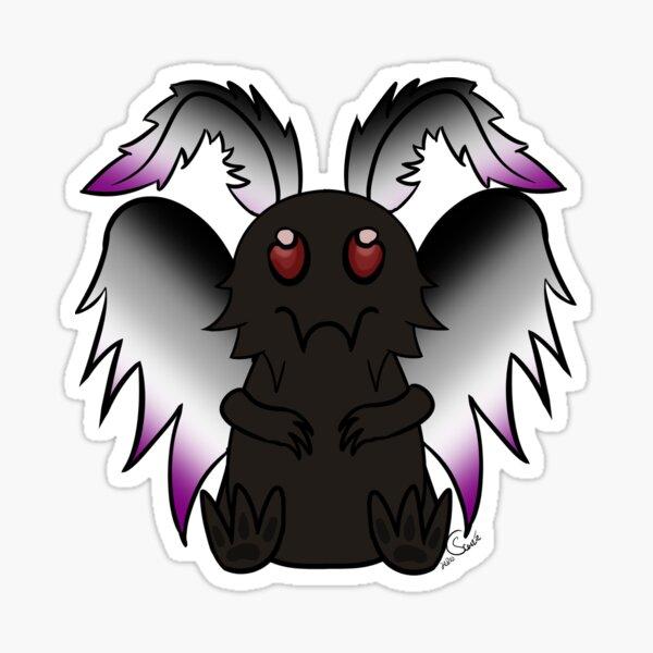 Mothman - Ace Pride Sticker