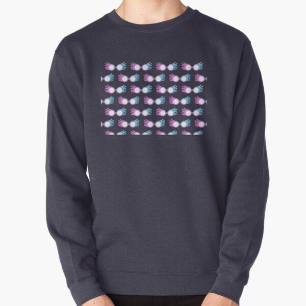 Luna Lovegood Glasses Pattern Pullover Sweatshirt