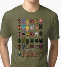 20 Nights at Freddy's Tri-blend T-Shirt