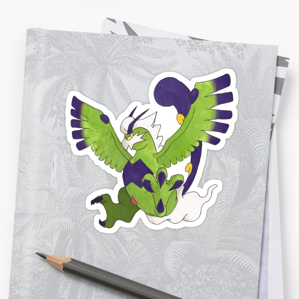 Chris' Tornadus - Therian Forme by eevilmurray