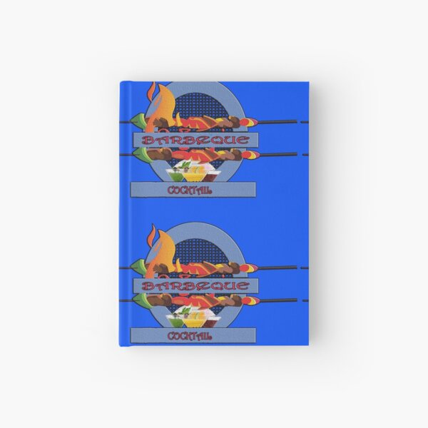 Barbecue cocktail fun Hardcover Journal