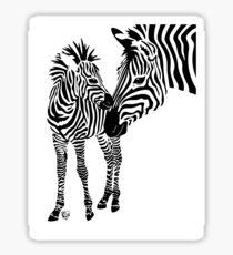 Love Stripes Two Sticker
