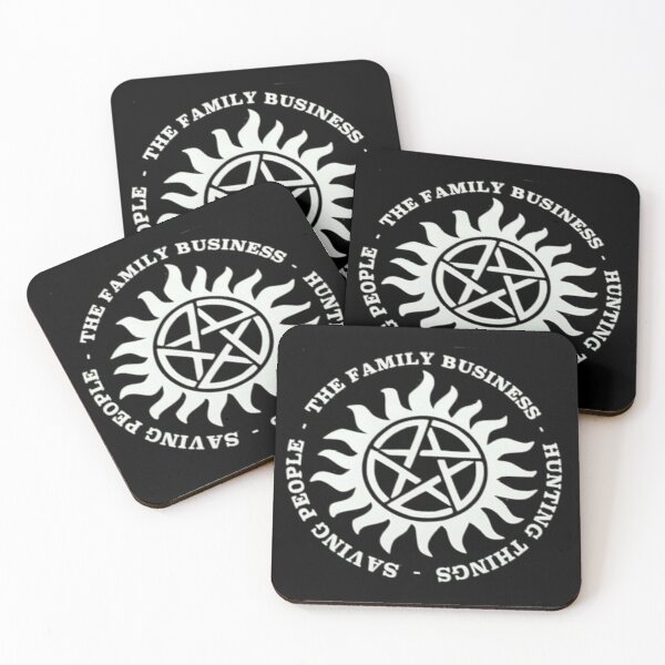 Supernatural Coasters (Set of 4)