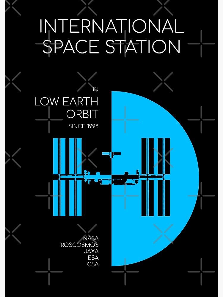 International Space Station. In Low Earth Orbit Since 1998 by BGALAXY