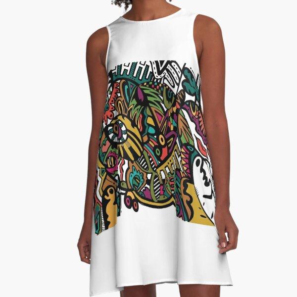 Chaos A-Linien Kleid