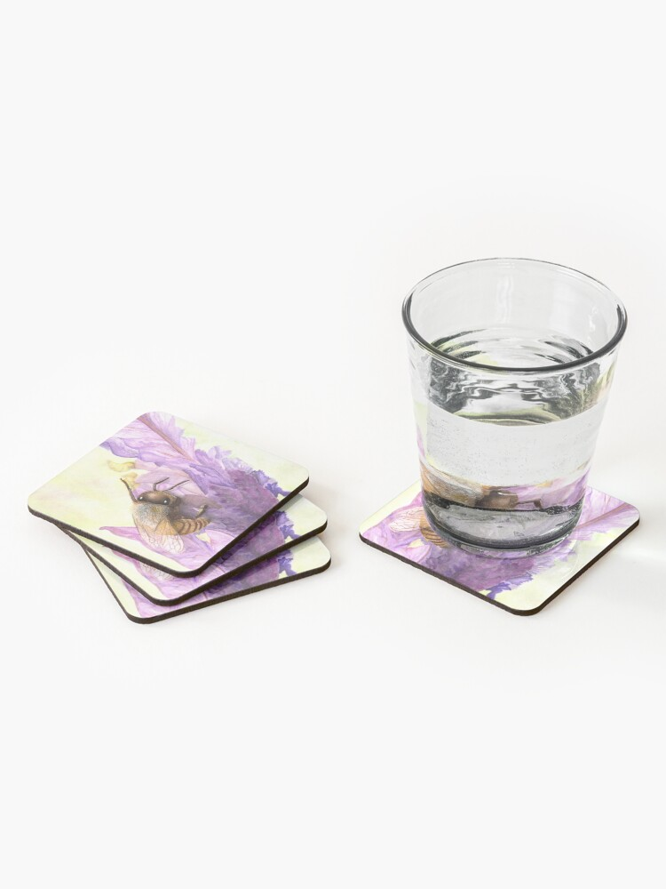 Alternate view of Bee Bliss Coasters (Set of 4)