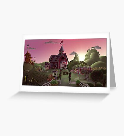 Sweet Apple Acres, Dawn Greeting Card