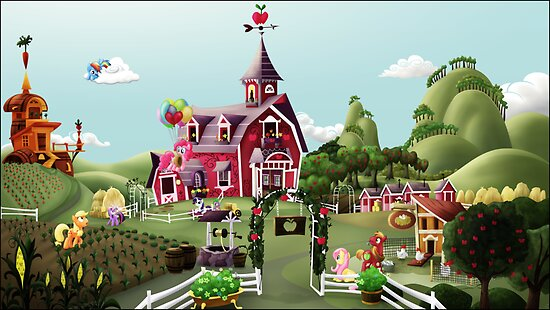 Sweet Apple Acres, Noon by Stinkehund