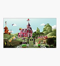 Sweet Apple Acres, Noon Photographic Print