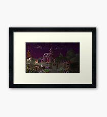 Sweet Apple Acres, Dusk Framed Print