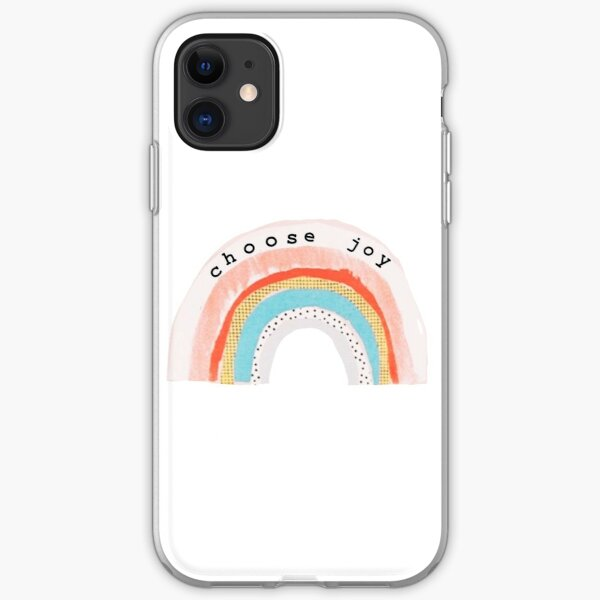 Choose Joy iPhone Soft Case
