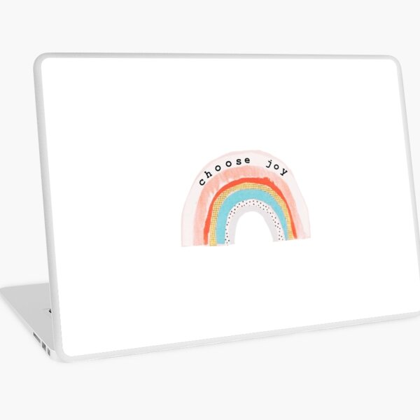 Choose Joy Laptop Skin