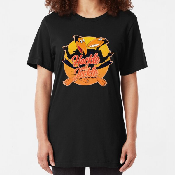 Heckle and Jeckle - TV Cartoons  Slim Fit T-Shirt