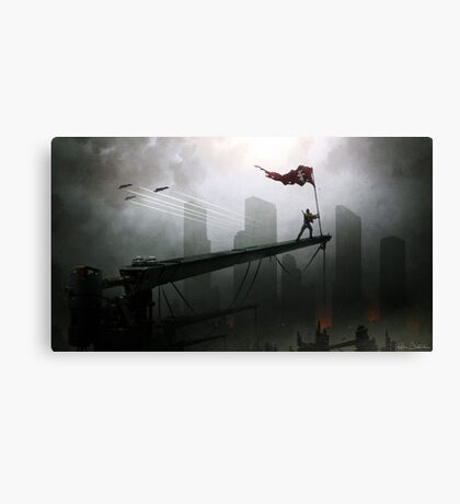 Spirit of Defiance Canvas Print