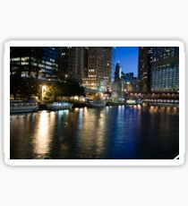 Chicago River Sticker