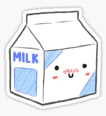 milk carton drawing stickers redbubble rh redbubble com milk carton drawing tumblr milk carton drawing easy