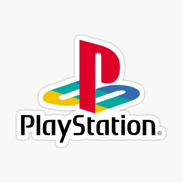 Playstation Original Logo Mask/Badge/Sticker Sticker