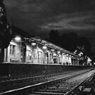 Train Station by MichaelCouacaud