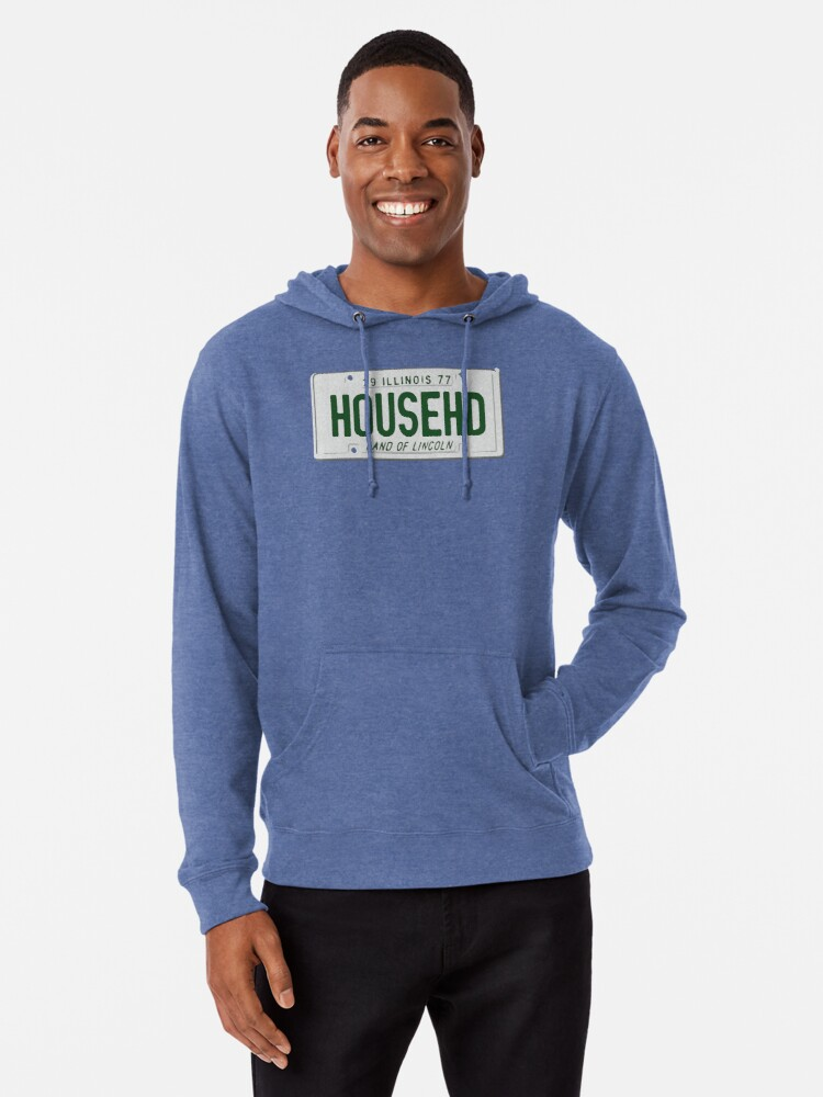 Alternate view of House Head Lightweight Hoodie